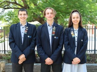 Year 12 College Captains 2020