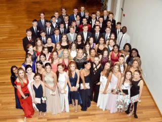 Year 12 Formal Group Photo 2018